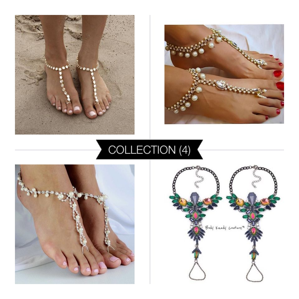 Shop Womens Barefoot Sandals Anklets Beach Wedding Foot Jewelry