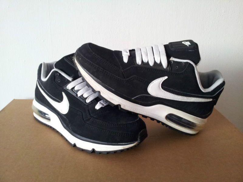 NIKE AIR MAX BLACK SUEDE | Nike air max black, Nike fashion