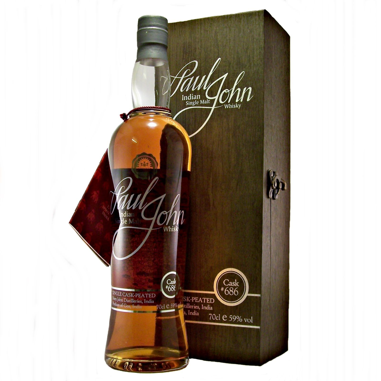Paul John Single Cask 686 Peated Single Malt Whisky Whisky Malt Whisky