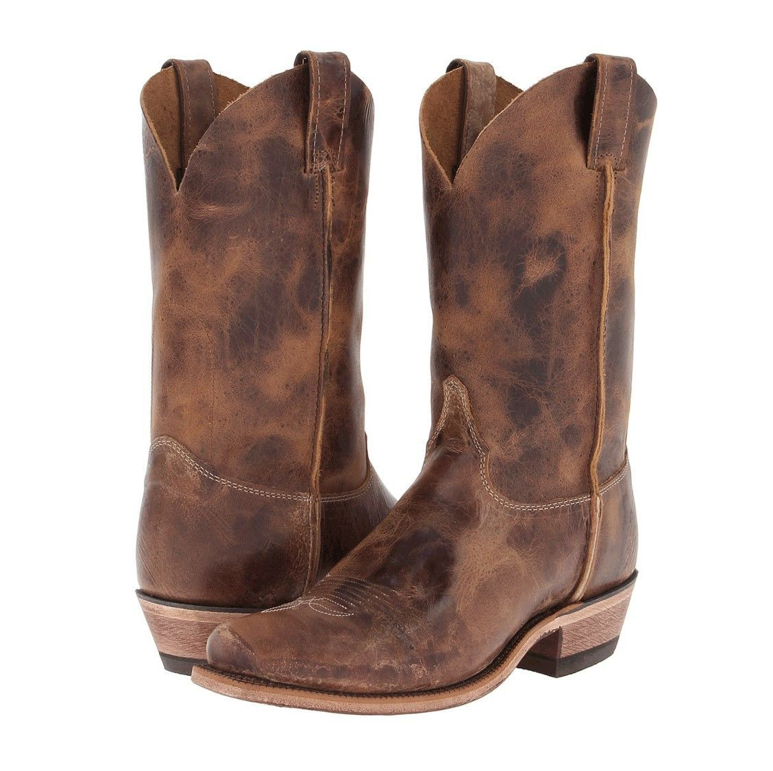 Tan Road Men's Western Boot by Justin | Western boots for