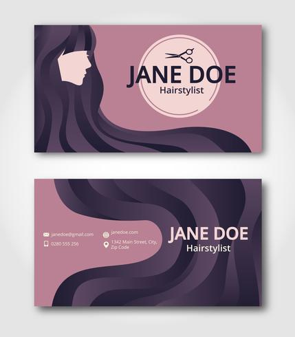 Hairstylist Business Card Template Download Free Vectors With Hair Salon Busines Hairstylist Business Cards Salon Business Cards Cosmetologist Business Cards