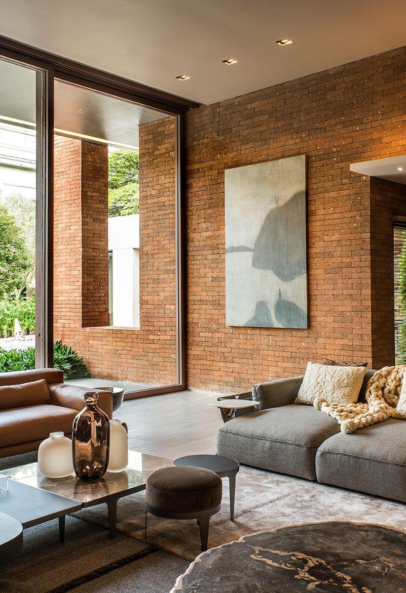 Casacor sp 2017 espa o dos convidados living room for Interiores de apartamentos