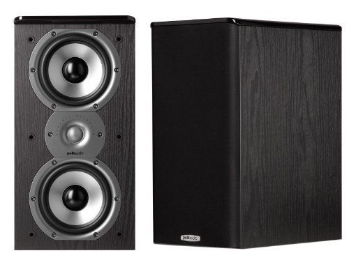 Polk Audio AM4095 A Monitor40 Series II Two Way Bookshelf Loudspeaker Black