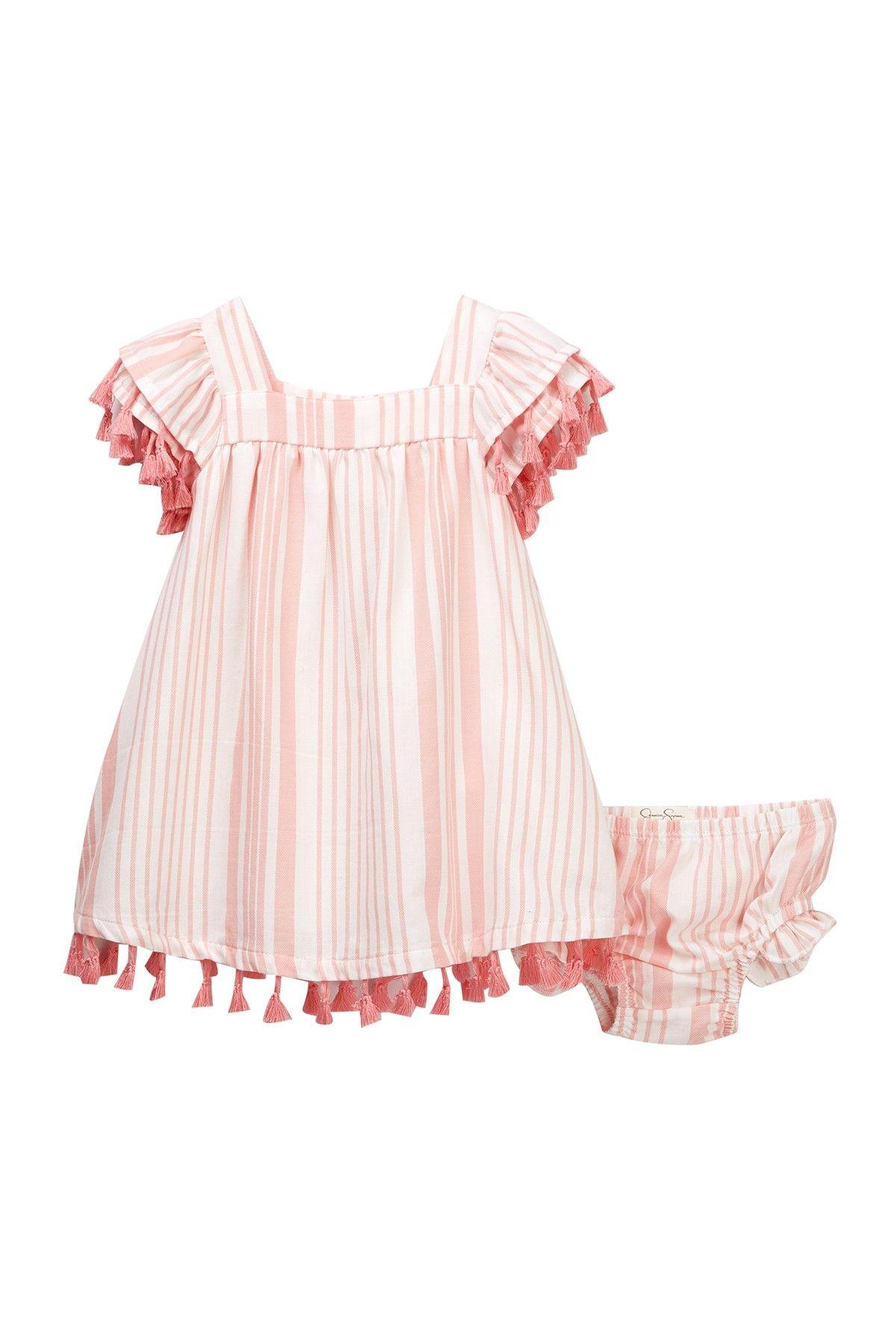 5d7dfd7c1 Tassel Trim Dress & Bloomer Set (Baby Girls) by Jessica Simpson on  @nordstrom_rack