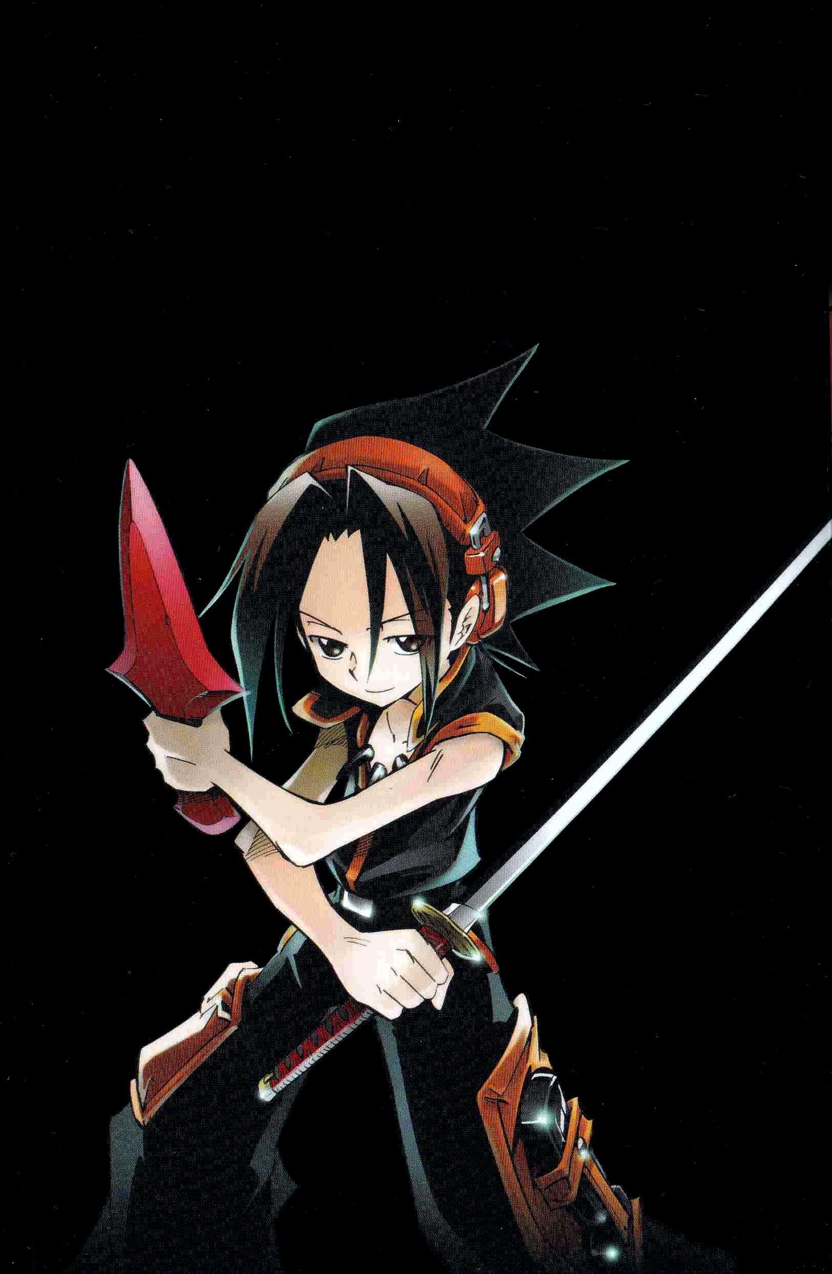 Shaman King Hq Manga Poster Anime Manga Serien