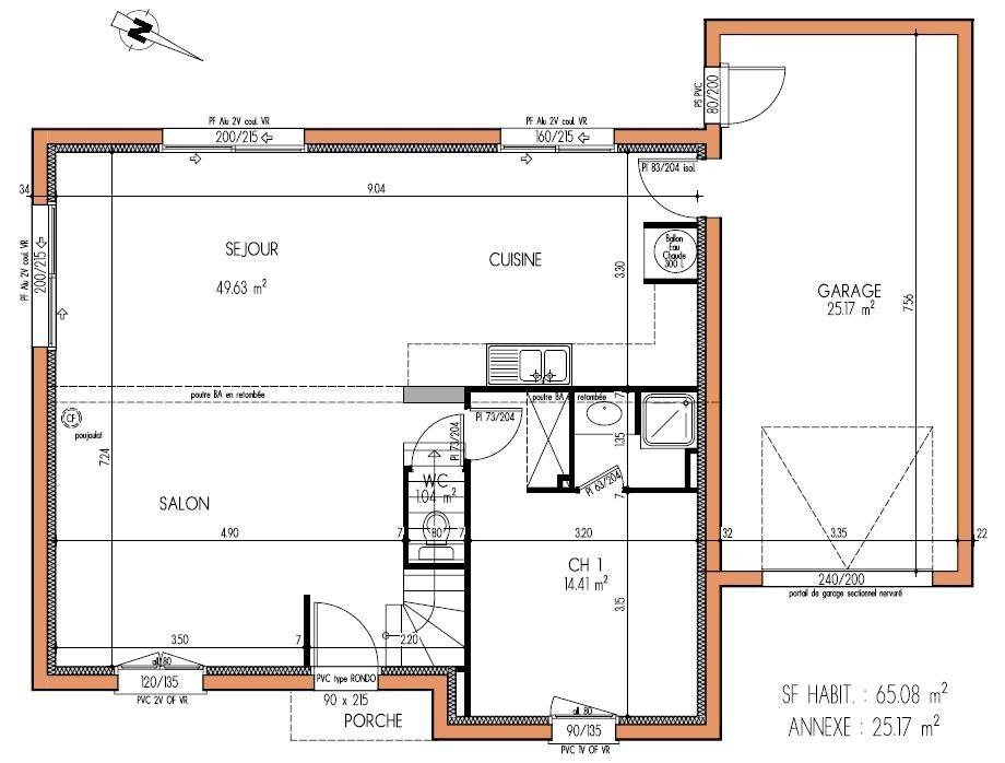 Découvrez nos avant-projets de maisons pour la construction de votre - Plan De Maison Originale