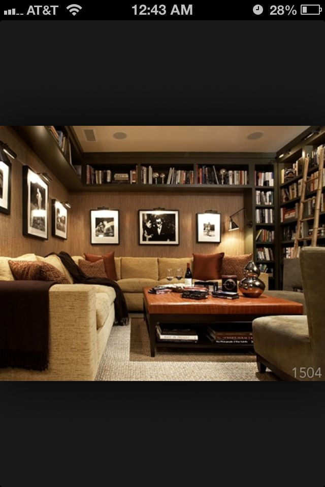 Library Study Room Ideas: Home Library Decor, Home Library
