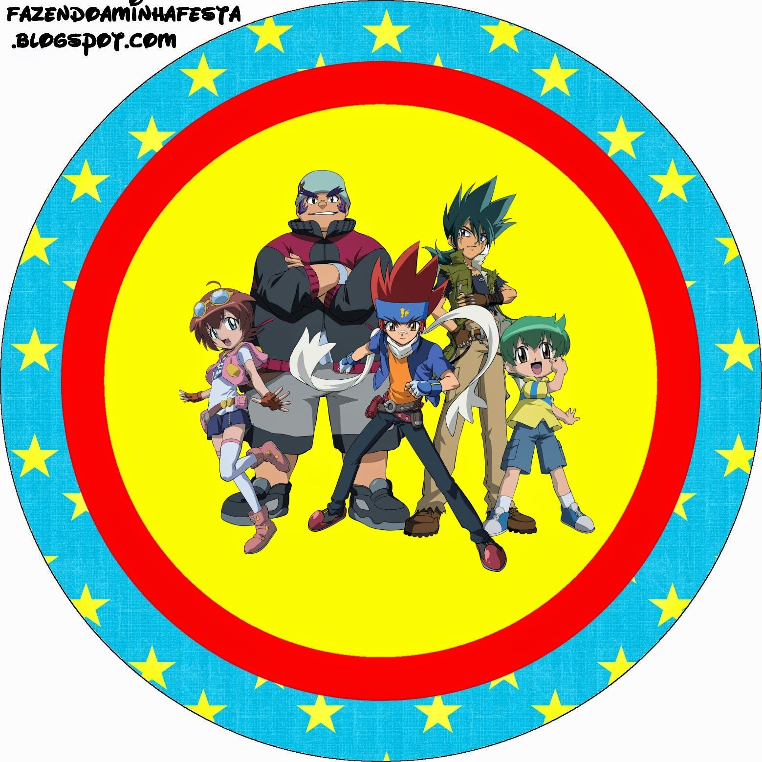 Beyblade: Free Printable Candy Bar Labels. | Chases Beyblade Party ...