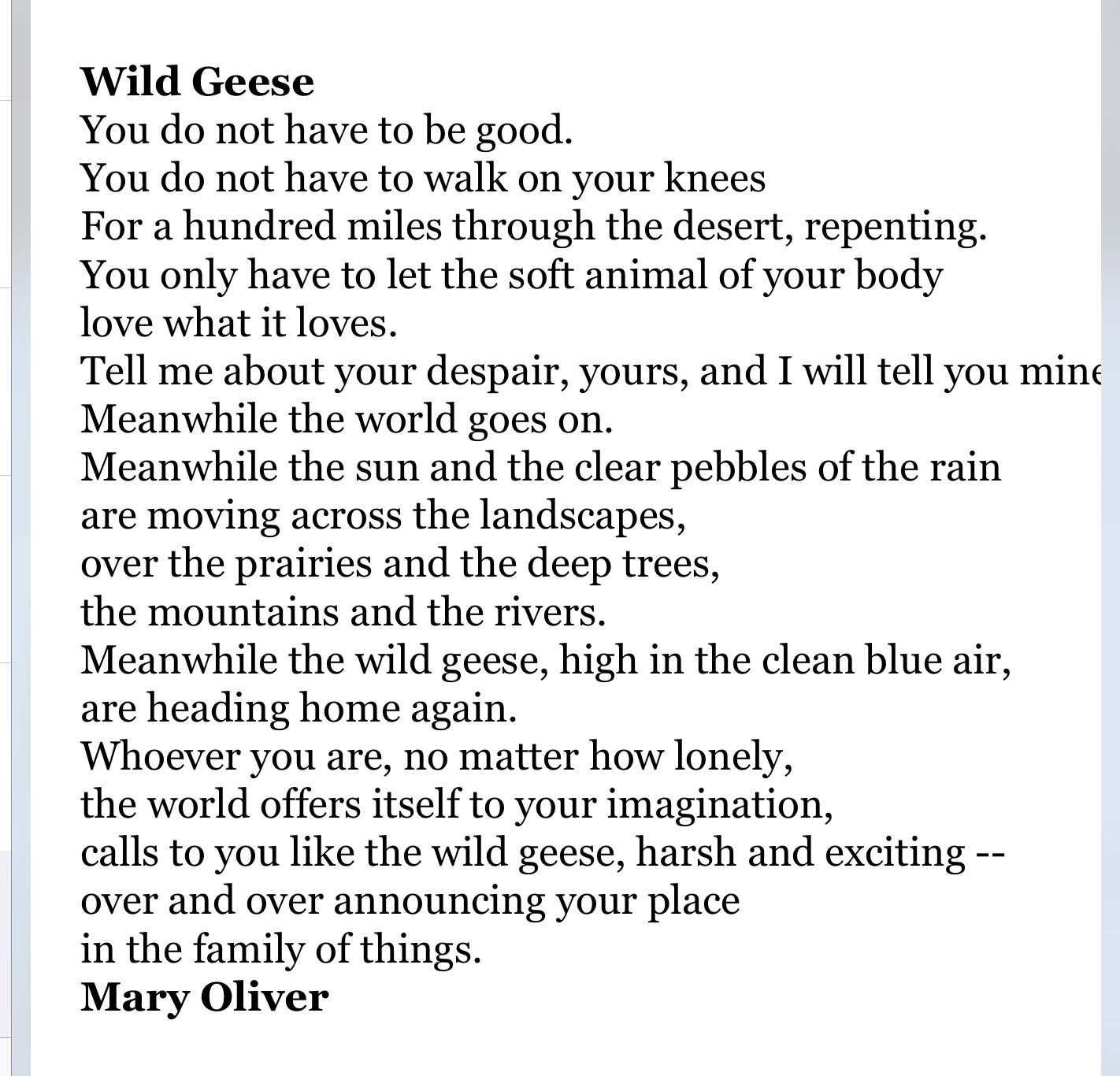 Pin By Lori Cavanagh On Mary Oliver