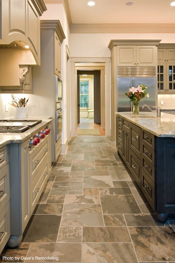 Save Money When Remodeling Your Kitchen Slate Floor Kitchen