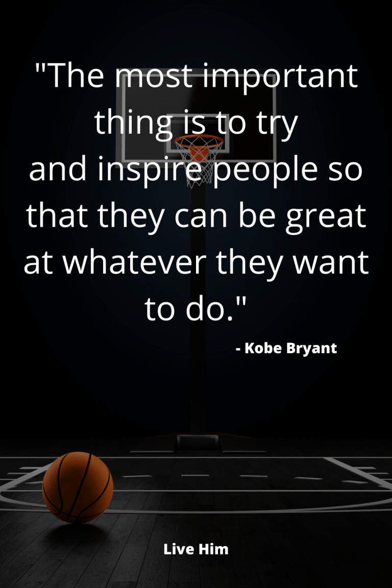 5 Inspirational Quotes from Kobe Bryant | Live Him