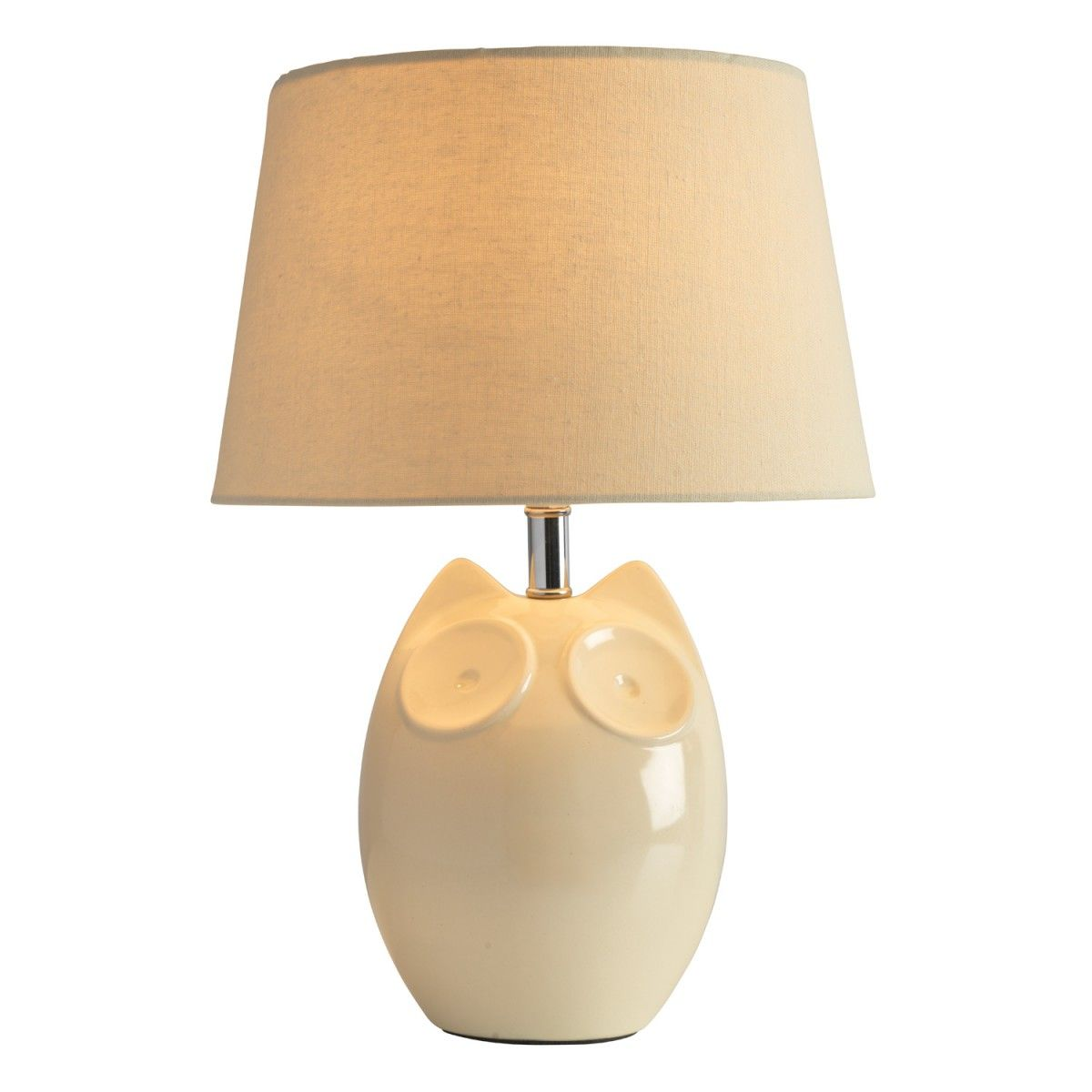 A cute and stylised glossy table lamp featuring the hector owl a cute and stylised glossy table lamp featuring the hector owl ceramic base in a geotapseo Choice Image