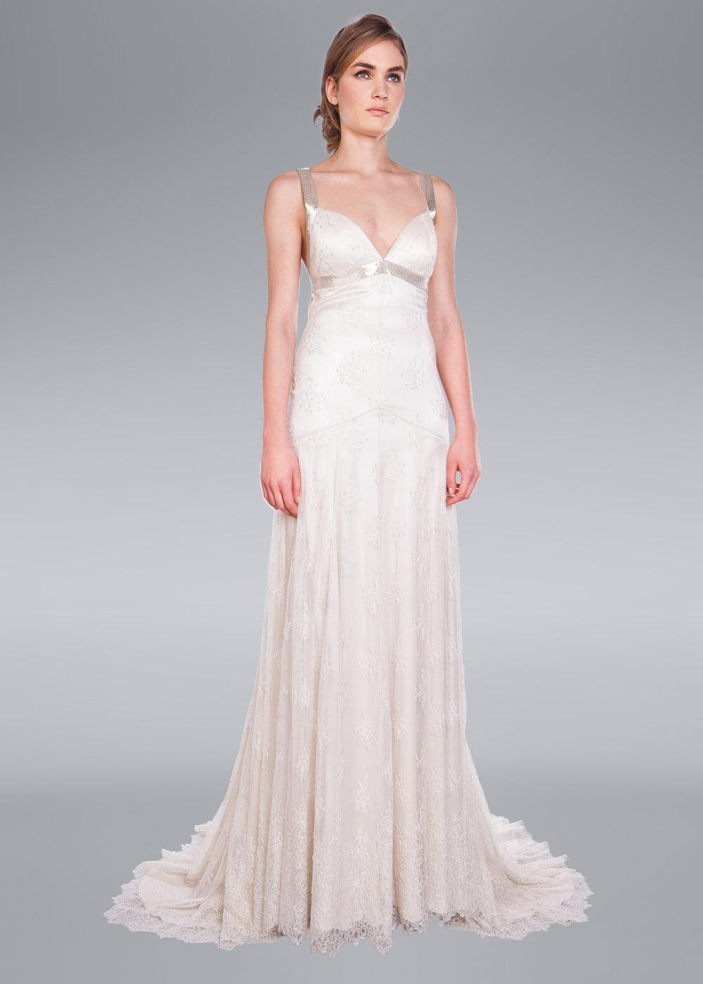 Arabella Wedding Dress, Amanda Wakeley Designer Collection