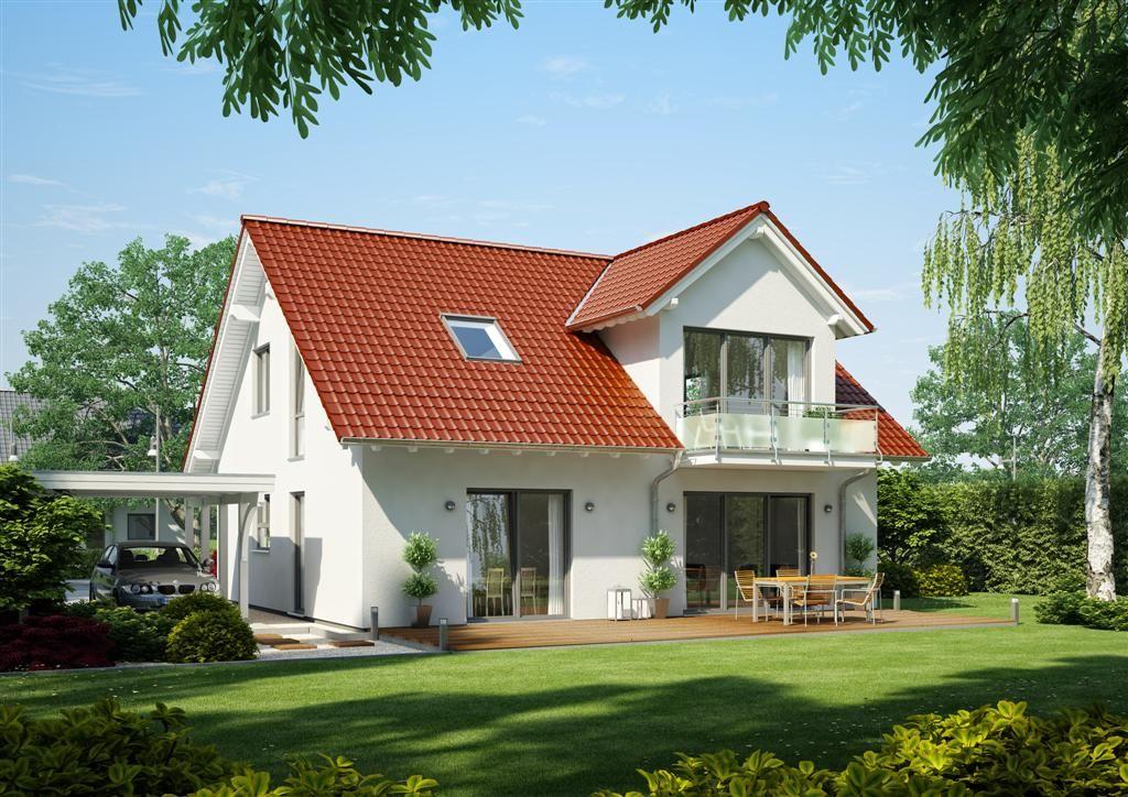 Familienhaus Magnum Wohnwand Teilmassiv Pinterest Haus   Bungalow Huser