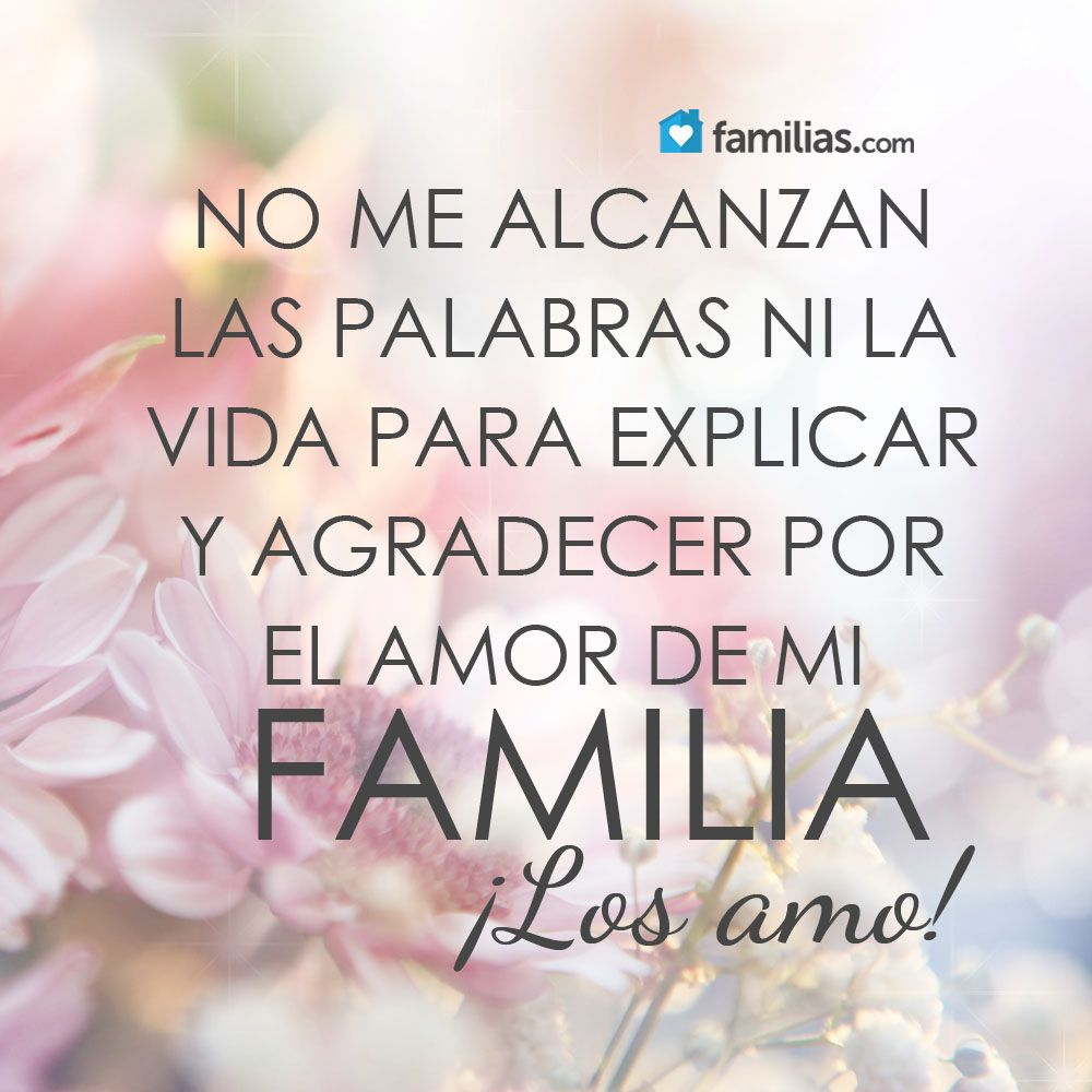 Gracias Madre Quotes Amo A Mi Familia  Familia   Pinterest  Frases Thoughts And