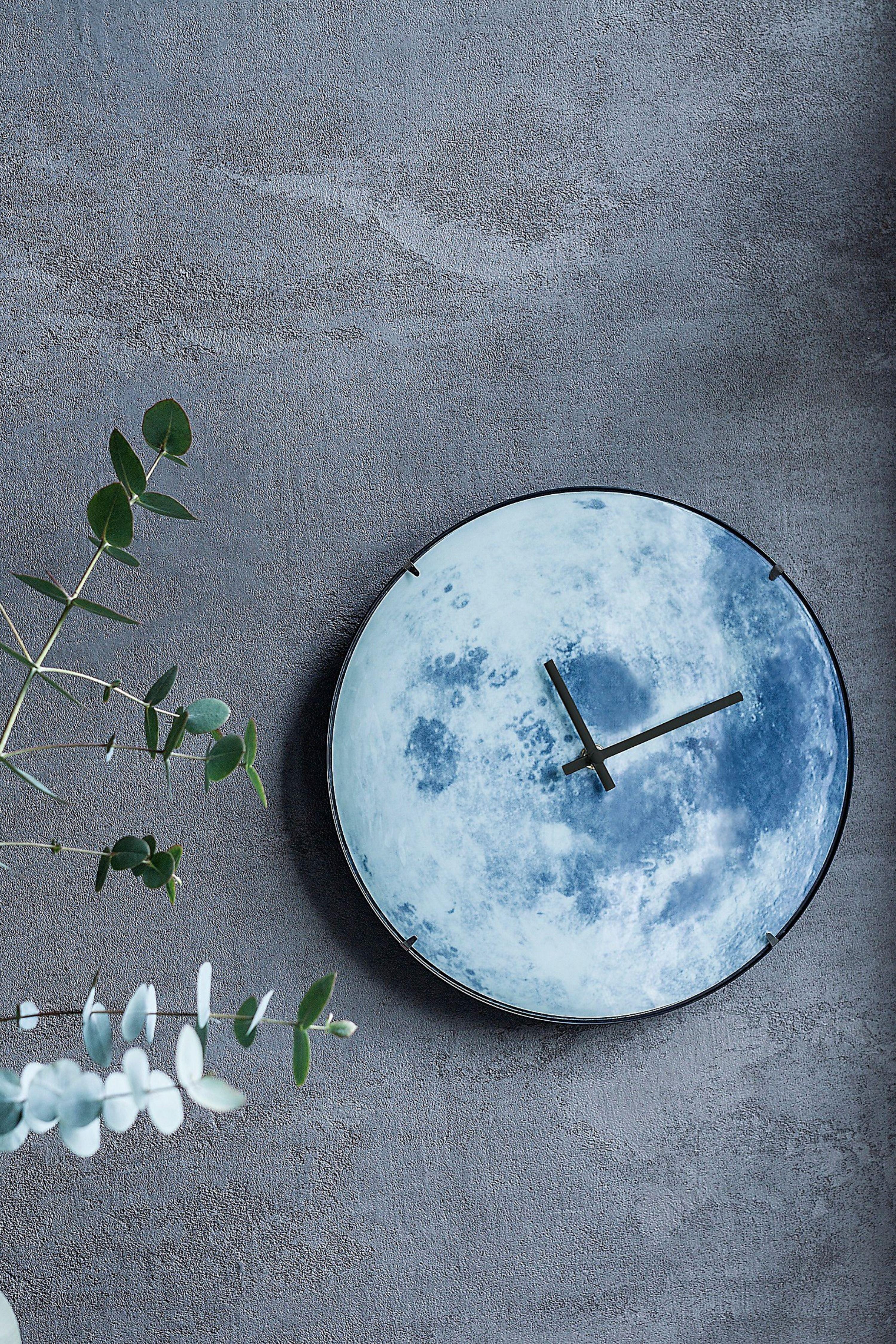 Funk Wanduhr Mond Wanduhr Uhr Wand