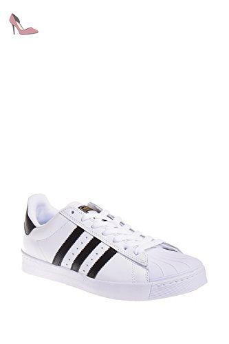 brand new 559df cc04c Adidas Superstar Vulc Adv Ftwhite  noir  ftwht Skate Shoe 8.5 nous - Chaussures  adidas