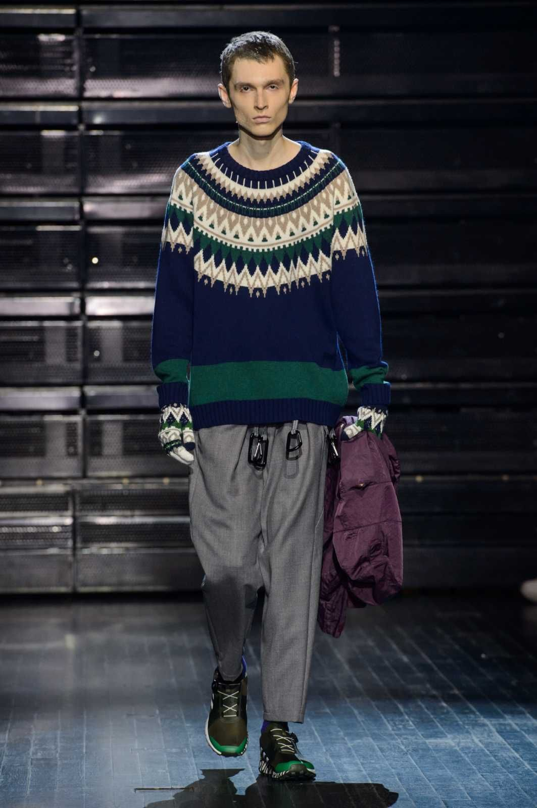 Male Fashion Trends: White Mountaineering Fall-Winter 2018-2019 | Paris Fashion Week