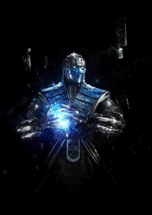 Sub Zero Adam Spizak Mortal Kombat Art Mortal Kombat