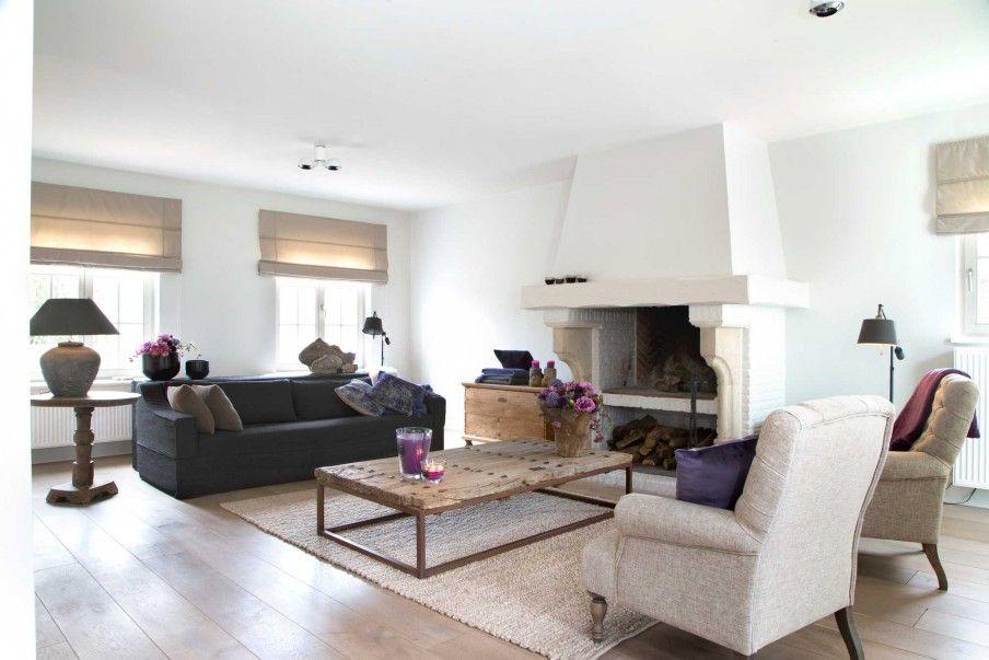 Woonkamer, landelijke stijl - Home & Living | Pinterest - Huizen ...