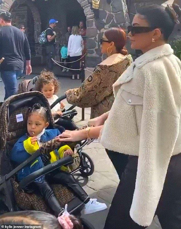 Kylie Jenner rolls out daughter Stormi's 10k Fendi