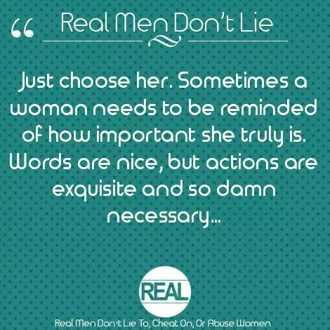 Real Men Don T Lie Words Real Man Women Abuse