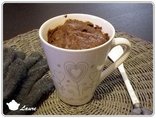 Mug Cake Au Chocolat Sans Beurre Sans Oeuf Pinterest