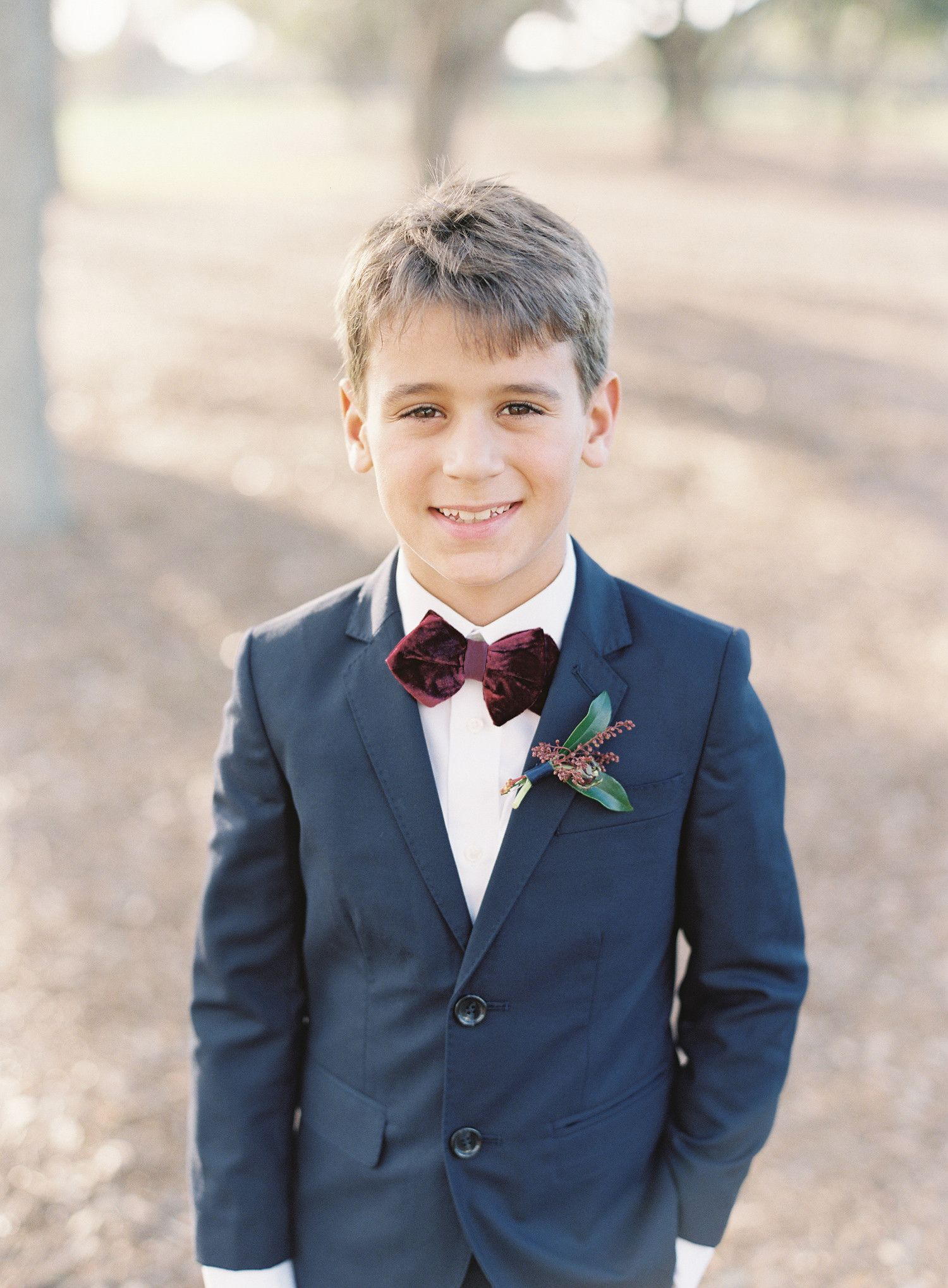 23 Ideas for Your Ring Bearer's Boutonnière Diamond