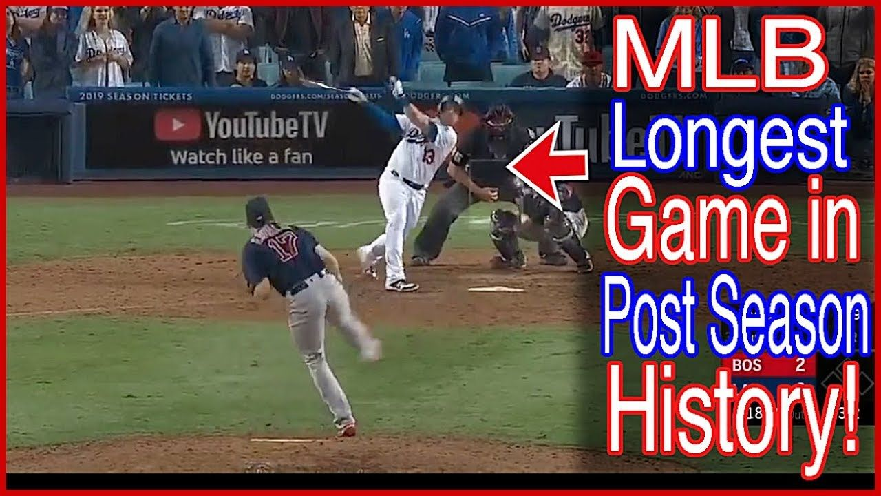 MLB Longest PostSeason Game Ever! Postseason, Mlb, Mlb