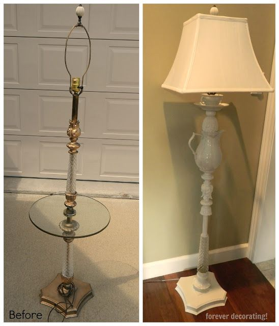 Lamp Shades For Old Fashioned Floor Lamps Vintage Floor Lamp
