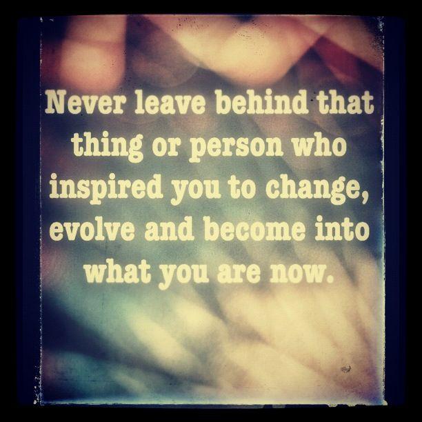 Leave Behind!