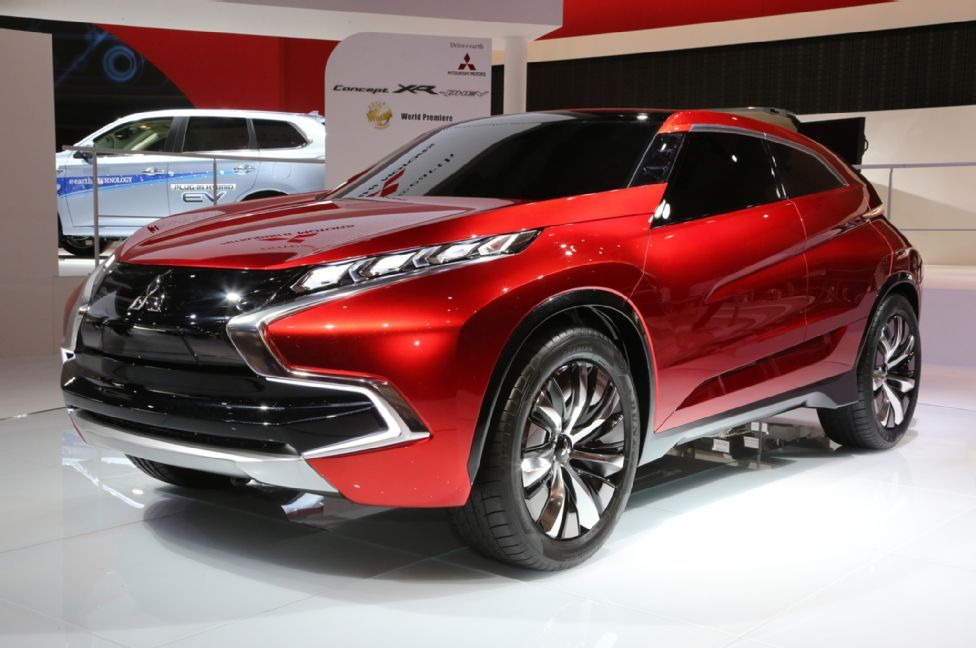 Mitsubishi Teases SUV Mitsubishi suv, Hybrid crossover