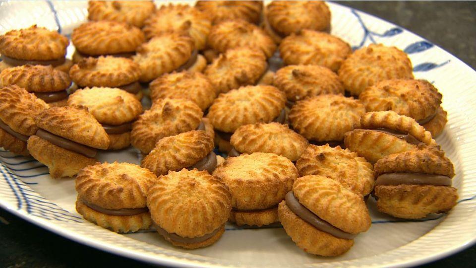 Kransekage macarons med ganache #kransekageopskrift