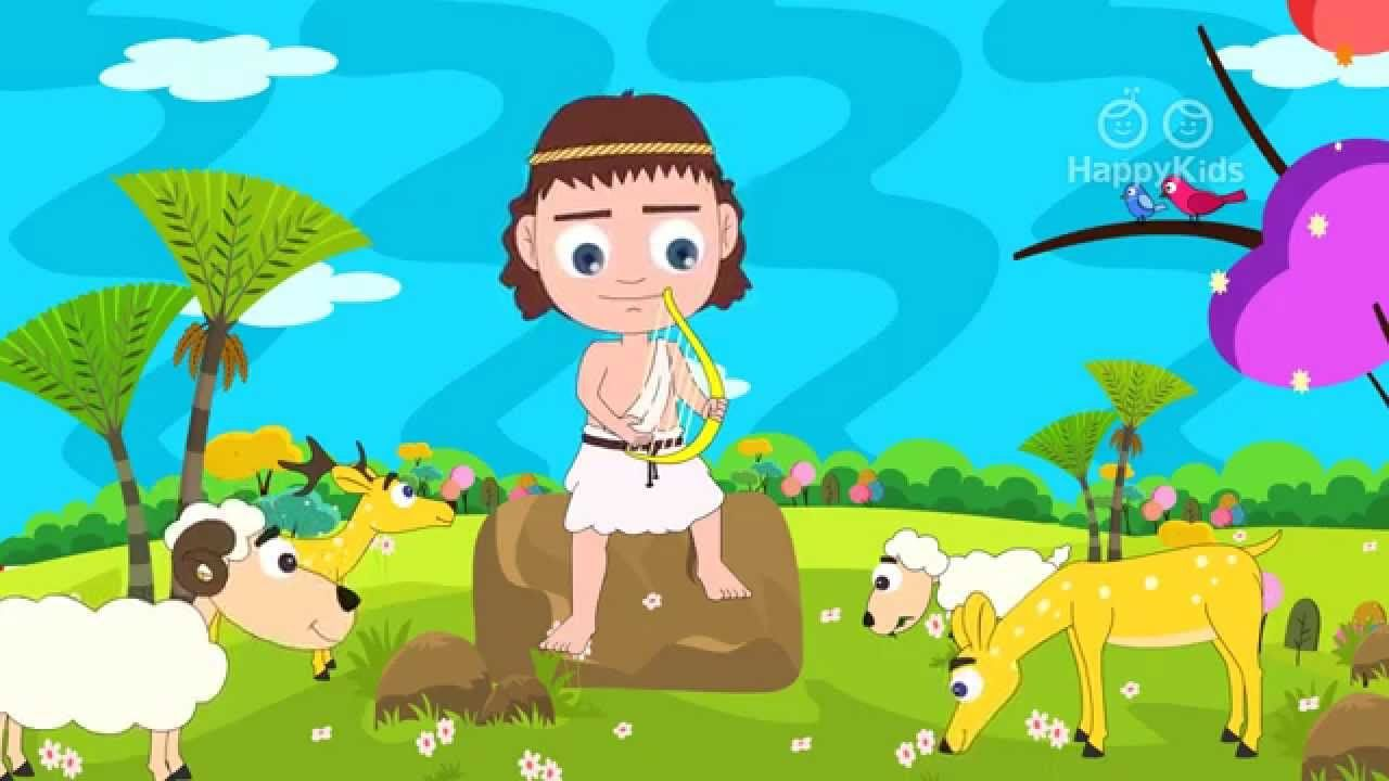 DAVIDandGOLIATH A Short Bible Story Animated Video good for