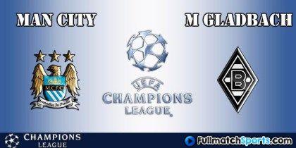 FULL MATCH Manchester City vs Moenchengladbach Champions ...