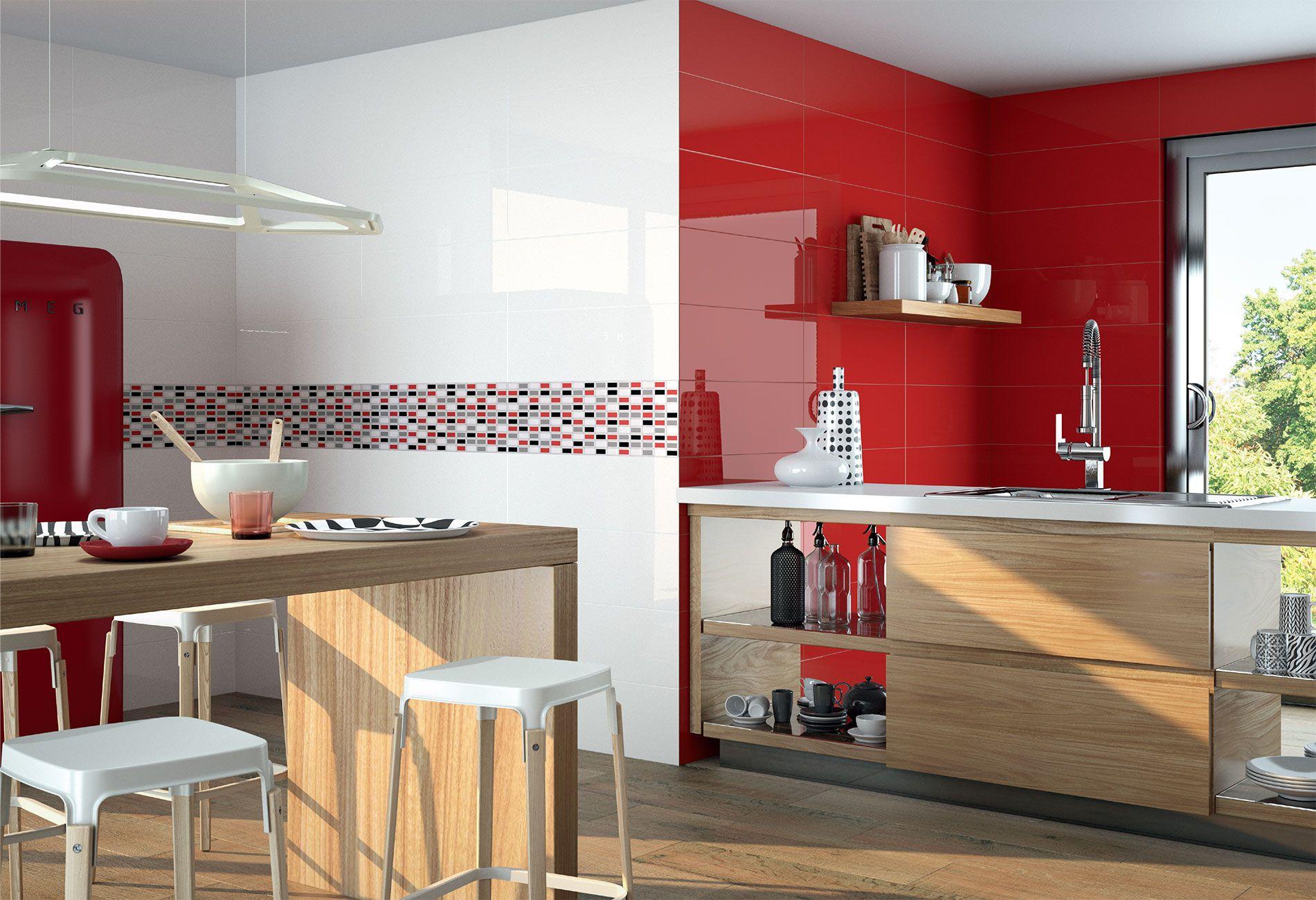 Estilos ex ticos para la cocina combinaciones ceramicas for Ceramicas para cocinas modernas