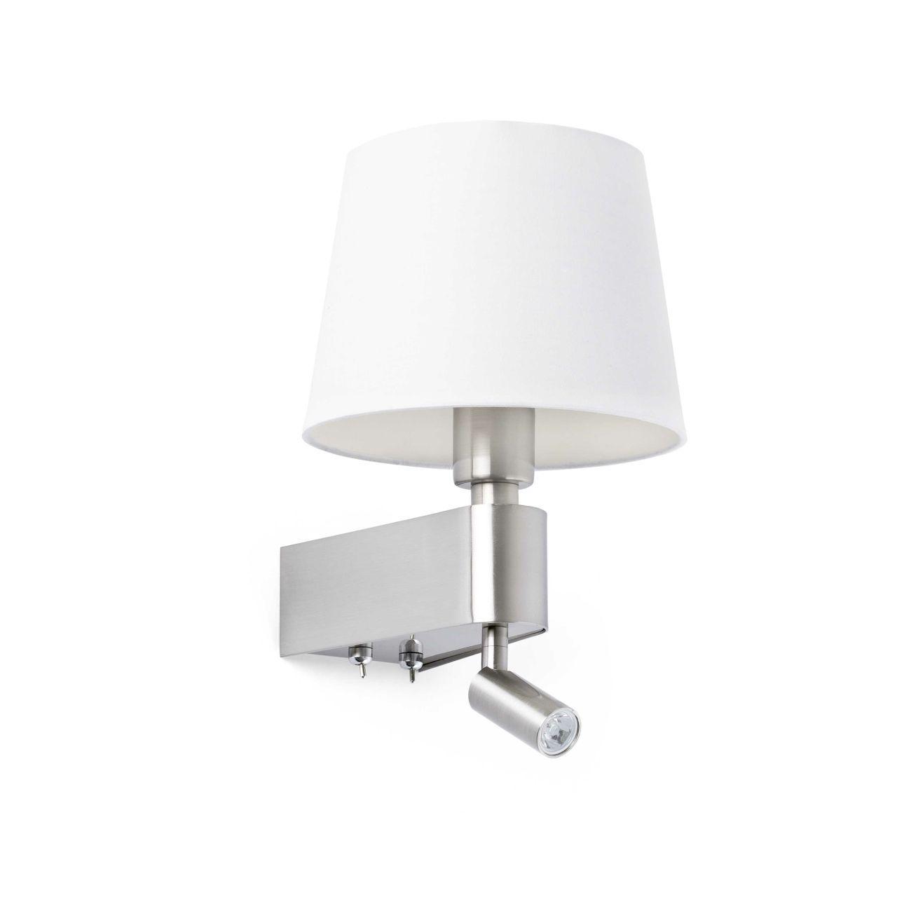 aplique de pared con lector de led iluminacion decoracion lamparas diseo
