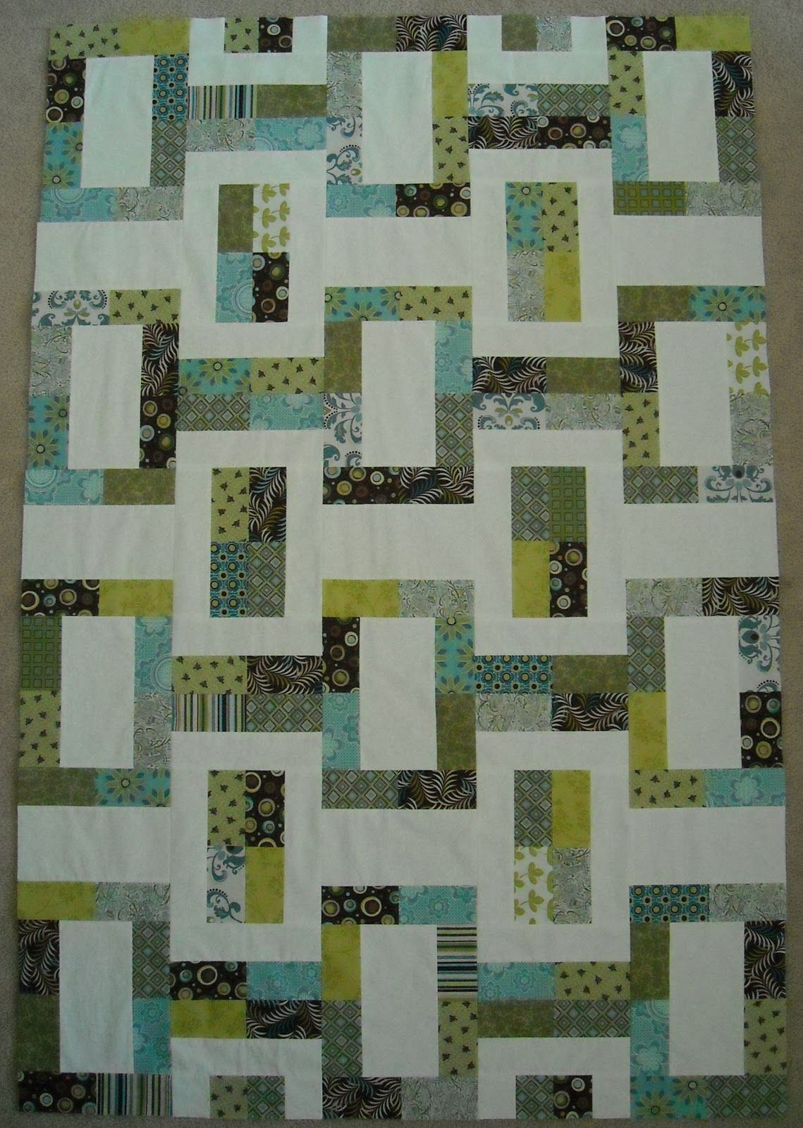 Jelly roll quilt patterns google search decke patchwork patchwork ideen und quilten - Patchwork ideen ...