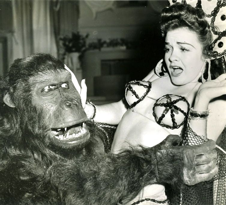 The gorilla and the chorus girl