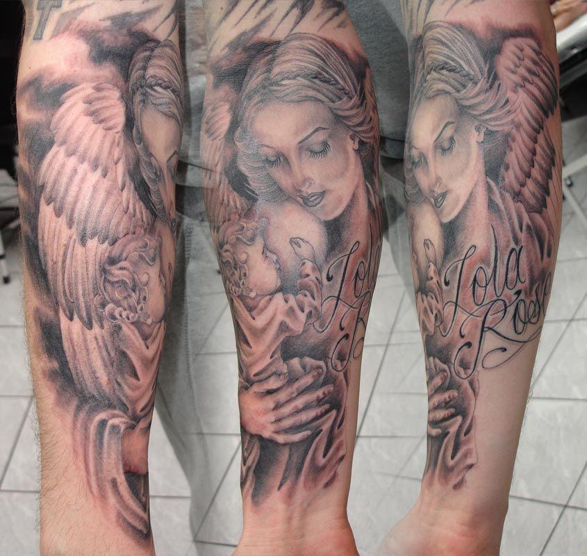 Tatouage Bras Femme Recherche Google Tatoo Tatuaje Angel