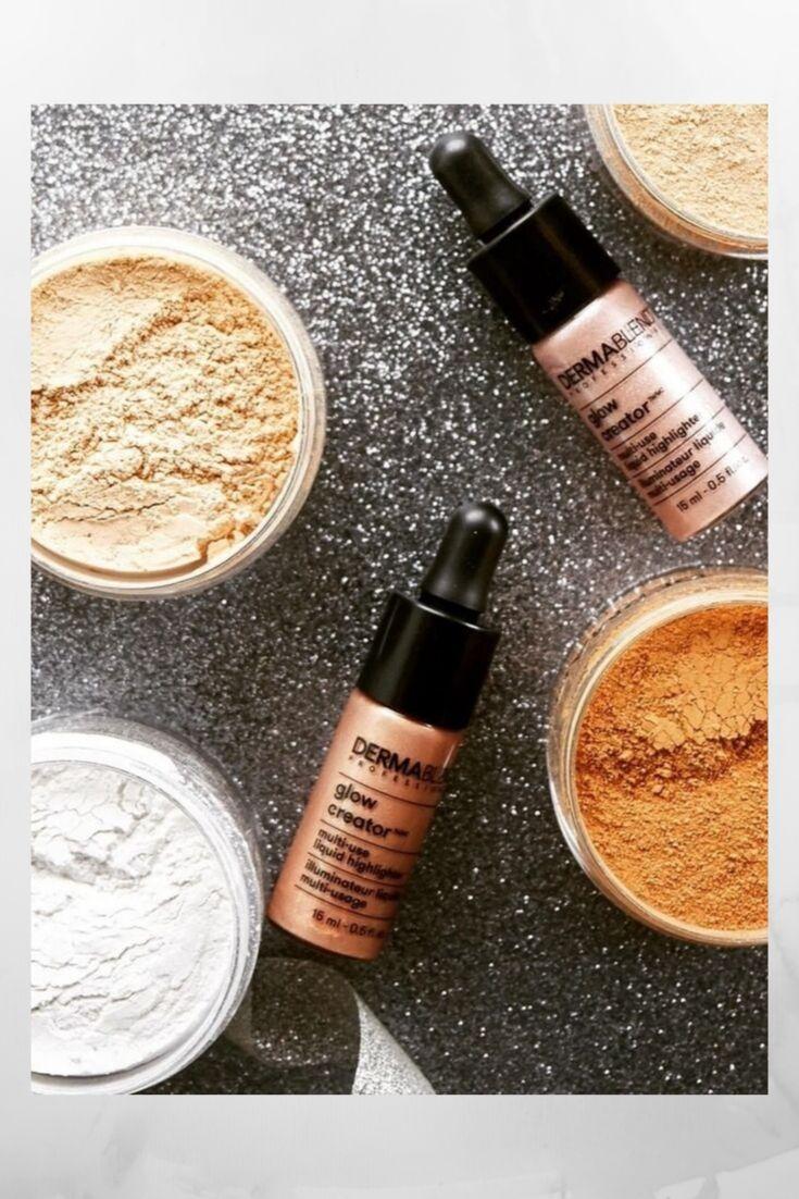 Dermablend Setting Powder, Makeup, Beauty, Model, Setting