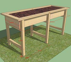 Bacs pour jardinage en hauteur recherche google jardin pinterest jardinage jardins et - Jardin en hauteur sureleve ...