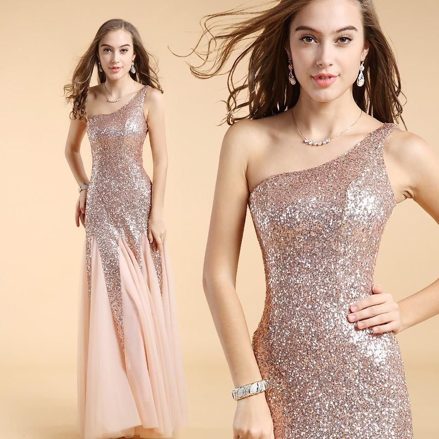 Wholesale cheap evening dress online, yes - Find best evening dress sequins elegant one shoulder special prom dress long evening dress robe de soiree hot sale 2014 new fashion 51302 at discount prices from Chinese evening dresses supplier on DHgate.com.