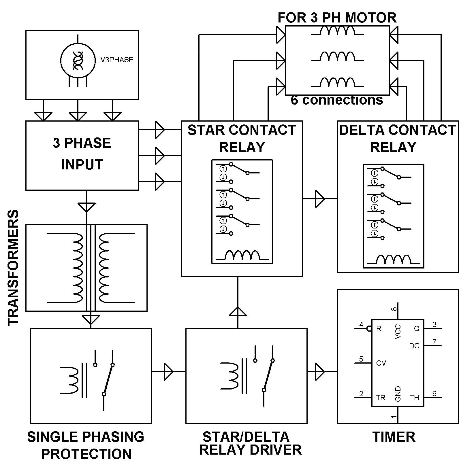 electrical engineering and projects electrical amps basic plc diagram basic plc wiring diagram [ 1651 x 1621 Pixel ]
