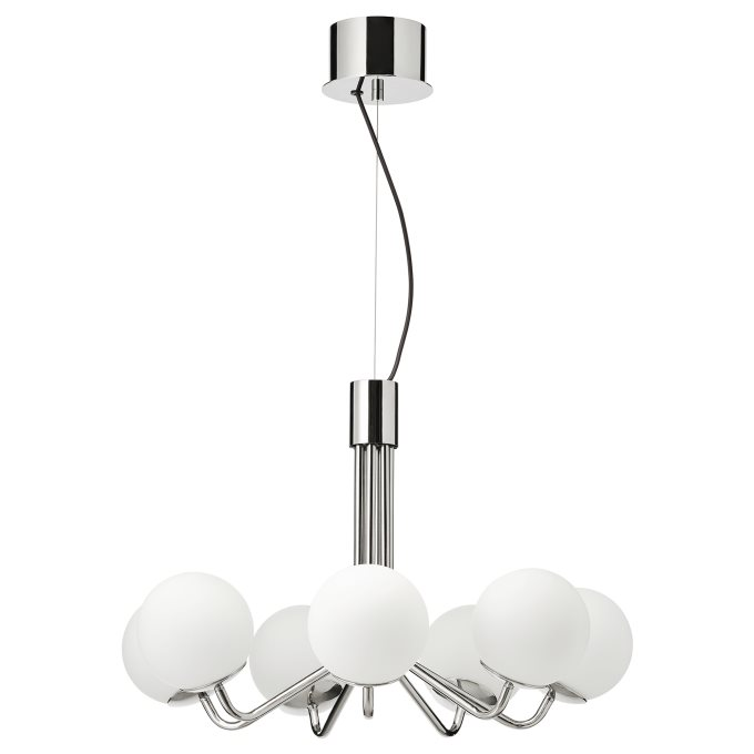 Simrishamn Polilej 604 518 72 Ikea Blgariya In 2020 Chrome Lamp Chrome Plating Chandelier