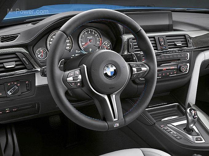 Captivating BMW M4 Interior Design