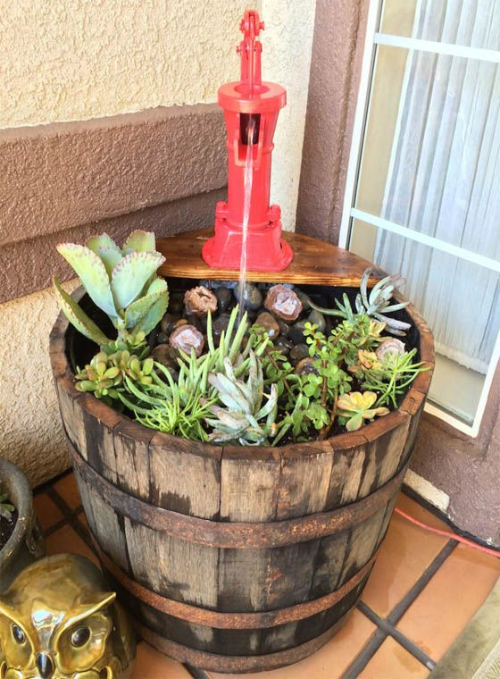 Macetas Con Barriles Viejos Whiskey Barrel Planter Wine Barrel Garden Barrel Garden Ideas