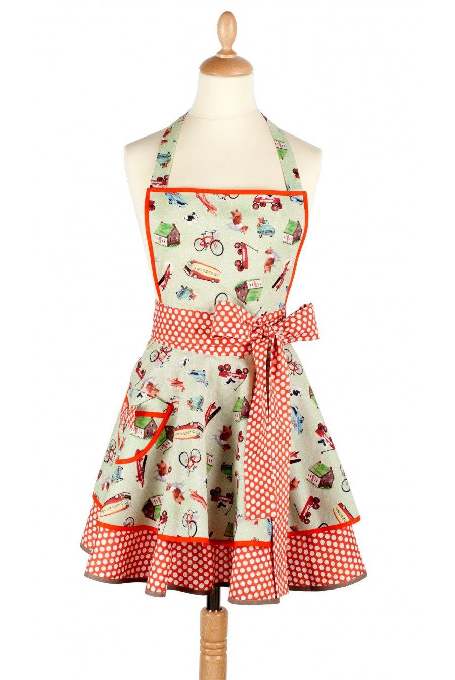 Les tabliers madame choup une merveille de feminit pour for Tablier de cuisine couture