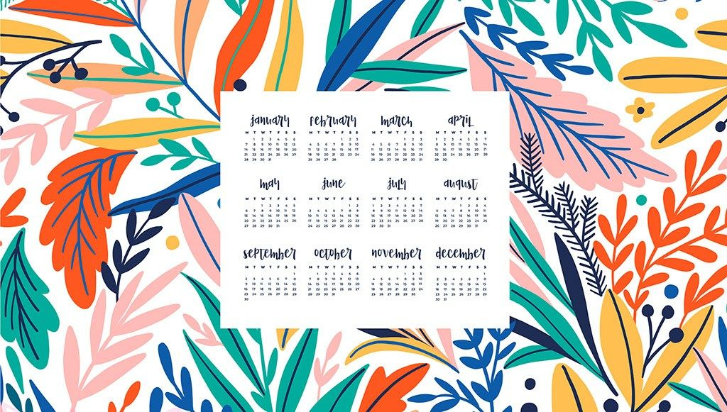 Free 2019 Desktop Calendars 12 Wallpaper Design Options Desktop Wallpaper Calendar Calendar Wallpaper Desktop Wallpaper