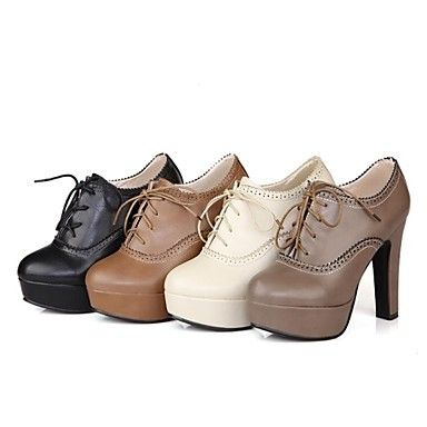 Women's+Stiletto+Heel+Round+Toe+Ankle+Boots+Shoes(More+Colors) +–+USD+$+34.99